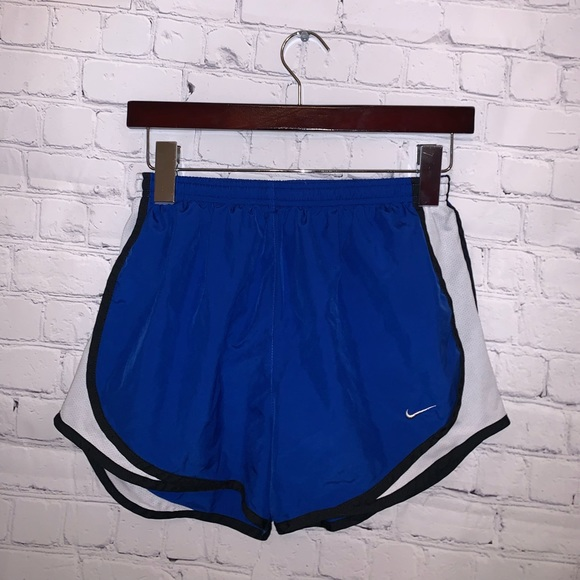 Nike Dri Fit Blue & White athletic shorts size S
